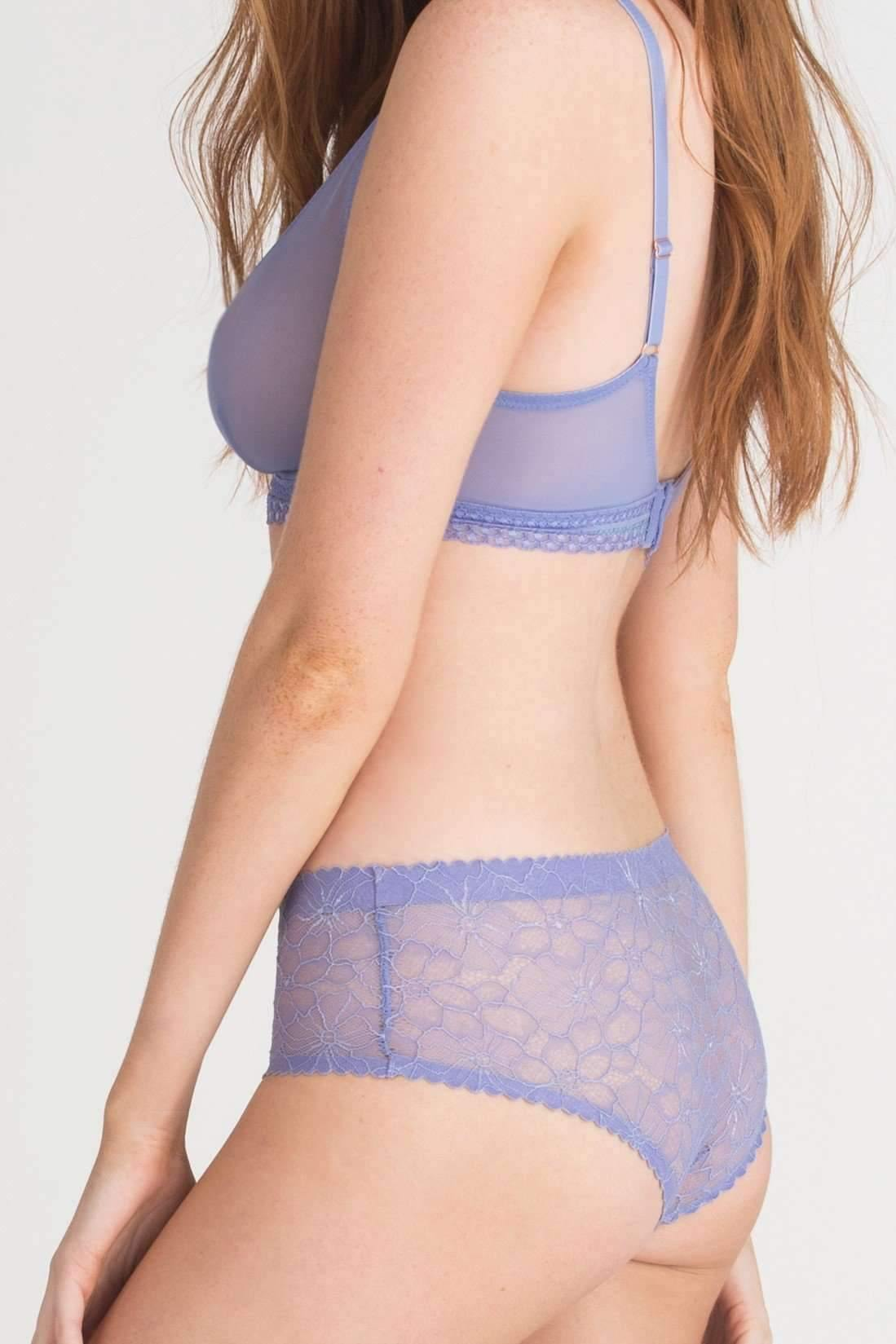 Sasha Scallop Lace Hipster-Panty-Honeydew Intimates-Honeydew Intimates