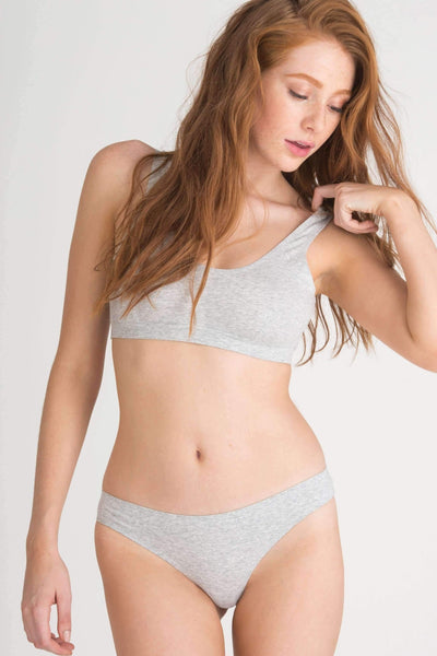 Shay Thong-Panty-Honeydew Intimates-Heather Grey-Small-Honeydew Intimates