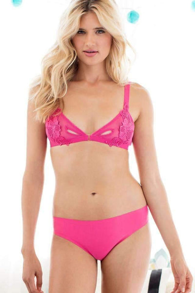 Skinz Thong-Panty-Honeydew Intimates-Vanity Pink-Small-Honeydew Intimates