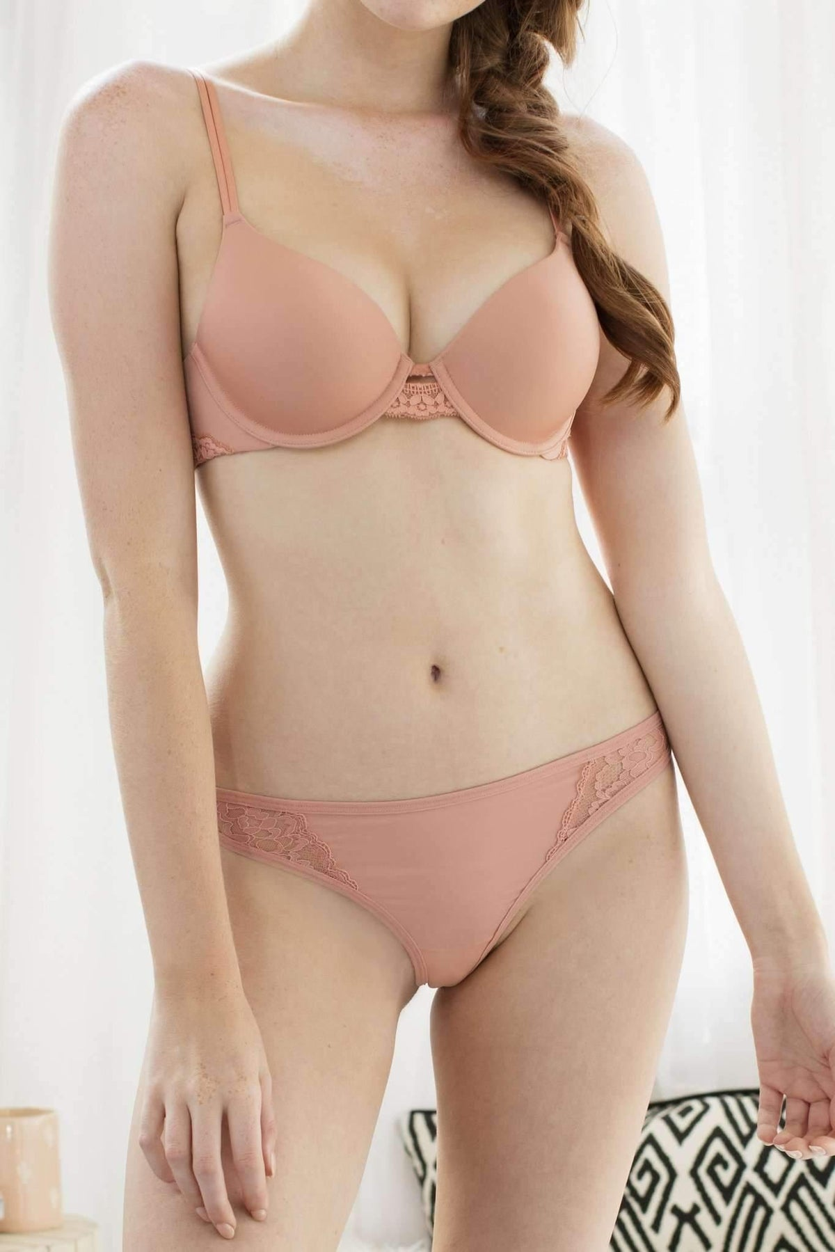 Sydney Lace and Micro Thong-Panty-Honeydew Intimates-Honeydew Intimates