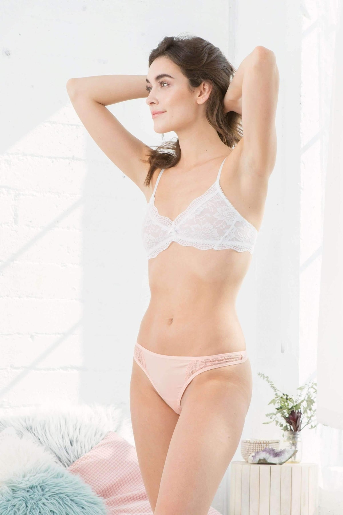 Honeydew Intimates:Sydney Lace and Micro Thong