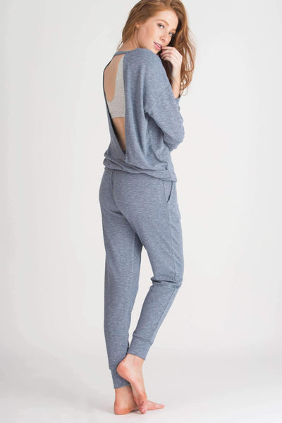 Weekender Jogger-Sleepwear-Honeydew Intimates-Navy Night-Small-Honeydew Intimates