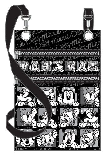 Disney Funny Face Minnie Daisy Passport Bag - SHOPME.COM