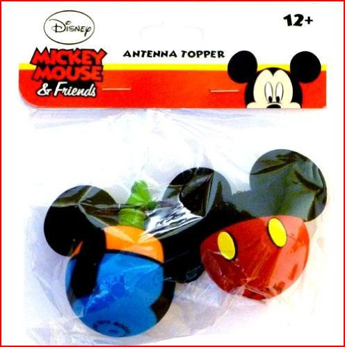 Mickey Mouse and Goofy Body Antenna Toppers - SHOPME.COM