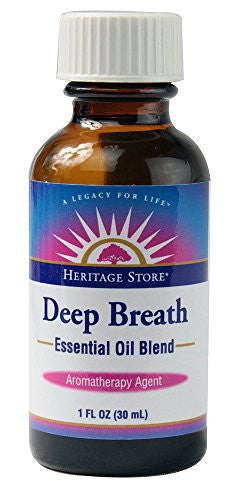 Heritage Products Deep Breath Essential Oil Blend -- 1 fl oz - SHOPME.COM