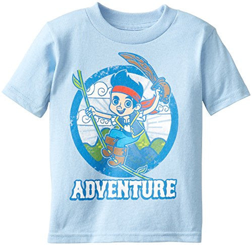 Disney Boy's Jake Swinging Pirate, Carolina Blue, 4T - SHOPME.COM