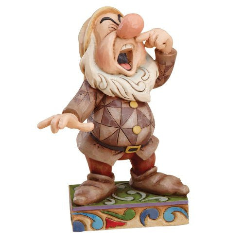 Disney Traditions designed by Jim Shore for Enesco Sneezy Figurine 4.5 IN - SHOPME.COM