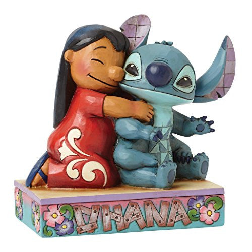 Disney Traditions by Jim Shore Lilo and Stitch Stone Resin Figurine - SHOPME.COM