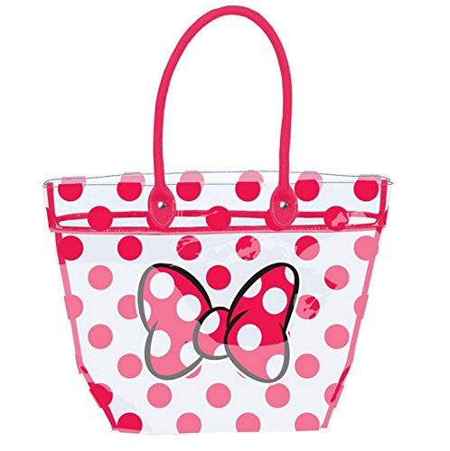 Disney Minnie Mouse Clear Beach Tote Bag - SHOPME.COM