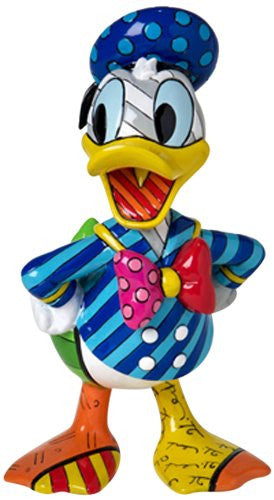 Disney by Britto from Enesco Donald Duck Figurine 7 IN - SHOPME.COM