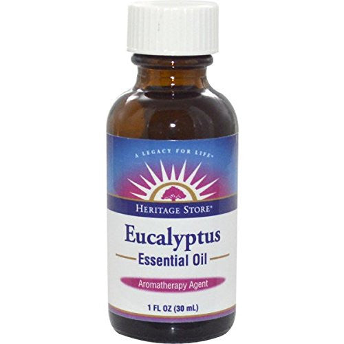 Egyptian Essential Oil Eucalyptus Heritage Store 1 oz Oil - SHOPME.COM