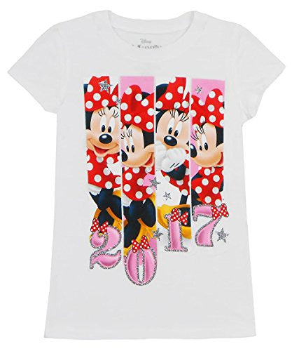 Disney Girls Tis Minnie Mouse 2017 Tee - SHOPME.COM