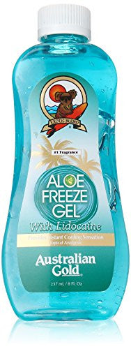 Australian Gold Aloe Freeze Gel with Lidocaine, 8 Fl Oz