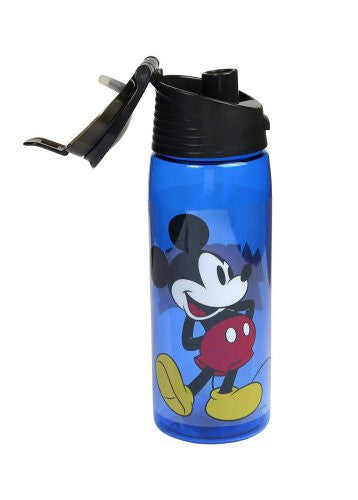 Disney Cute Mickey Mouse Flip Top Water Bottle - SHOPME.COM