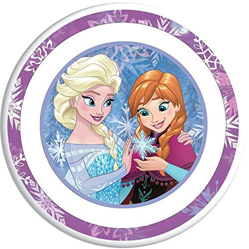 Disney Frozen Elsa Anna Snow Flake Wonders Bowl