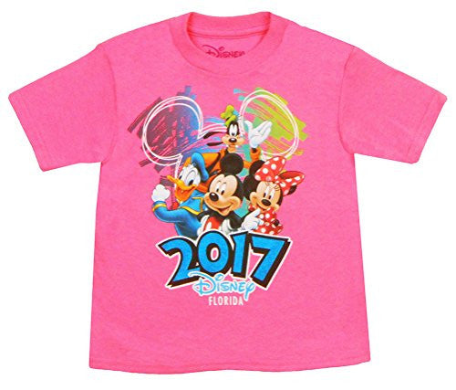 Disney Toddlers Exclusive Florida 2017 Disney Scribble 4 T-Shirt - SHOPME.COM