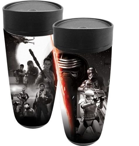Star Wars The Force Awakens Travel Mug - SHOPME.COM