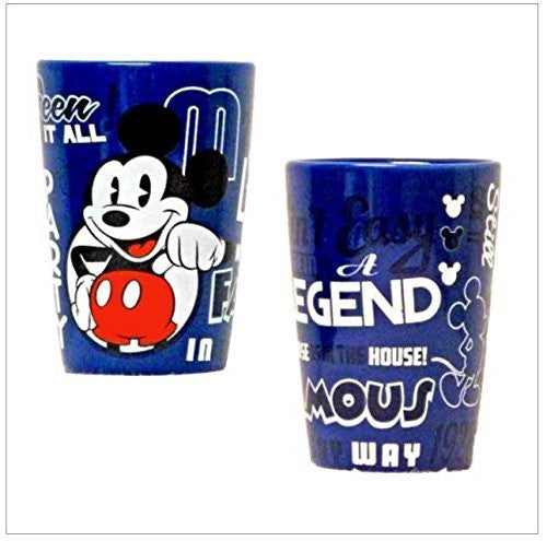 Disney Mickey Mouse Seen It All Ceramic Collector Glass