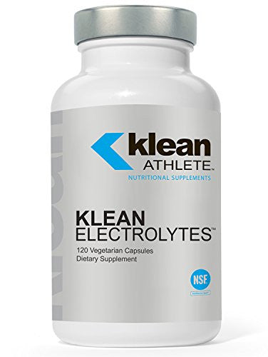 Klean Athlete - Klean Electrolytes - Replenishes Minerals for Hydration to Help Achieve Optimal Performance - NSF Certified for Sport - 120 Capsules - SHOPME.COM