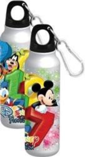 FL 2017 MICKEY GOOFY PLUTO AND DONALD FIREWORKS ALUMINUM WATER BOTTLE