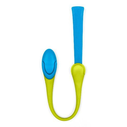 Boon Gnaw Multi-Purpose Teething Toy, Blue/Green - SHOPME.COM