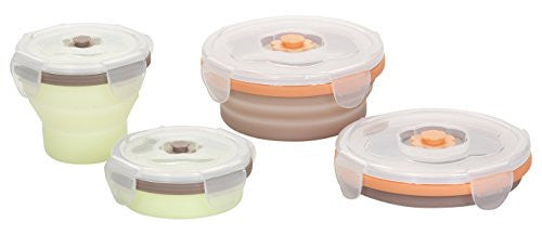 Babymoov 2 Piece Baby Food Collapsible Storage Containers - SHOPME.COM