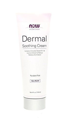 Now Foods Dermal Soothing B-12 Cream with Net-Dg, 4 Ounce - SHOPME.COM