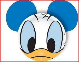 Donald Face Antenna Toppers