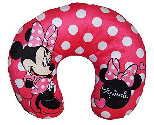 Disney Minnie Mouse Polka Dots Travel Neck Pillow - SHOPME.COM