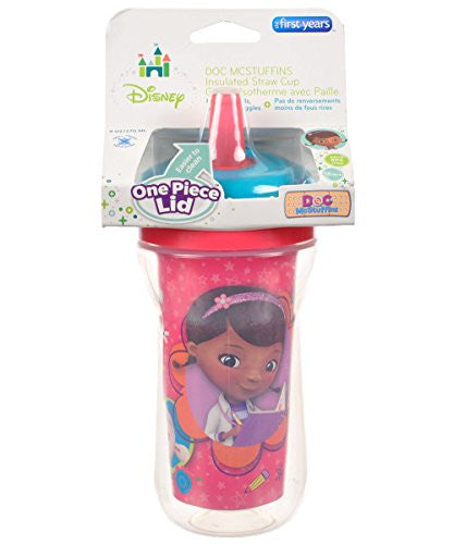 The First Years Disney Insulated Straw Cup, 9 Ounce - SHOPME.COM
