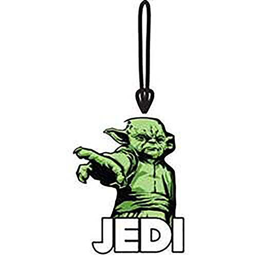 Star Wars Yoda Jedi Collectors Luggage Suitcase Tag - SHOPME.COM