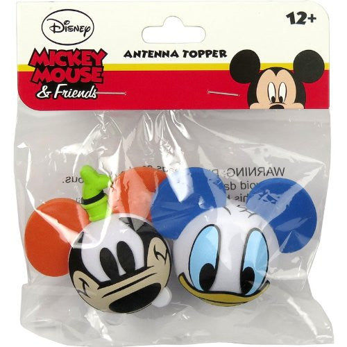 Disney Goofy Face & Donald Face Antenna Toppers - SHOPME.COM