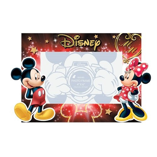 Disney Mickey and Minnie Mouse Duo Love Picture Photo Frame 4 x 6 - SHOPME.COM