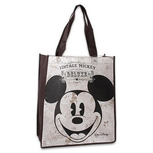 Mickey Vintage Non Woven Bag Large Size - SHOPME.COM