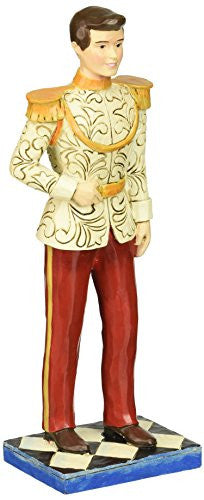 "Department 56 Disney Traditions by Jim Shore Prince Charming Figurine, 7.5"" - SHOPME.COM"