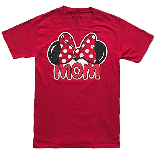 Disney Minnie Mouse Tee Women T Shirt Mom Fan Fashion Top - SHOPME.COM