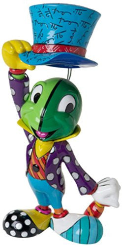 Disney by Britto from Enesco Jiminy Cricket Figurine 7.75 IN - SHOPME.COM