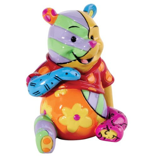 Enesco Disney by Britto Pooh Mini Figurine, 2.6-Inch - SHOPME.COM