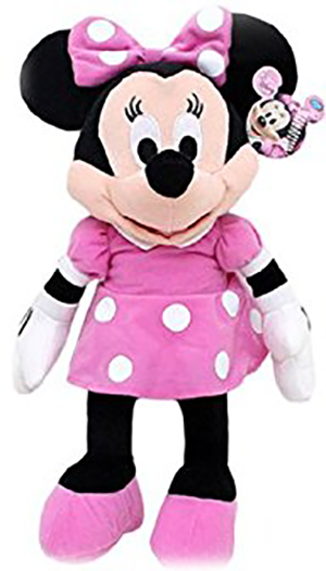 Just Play Plush Toys - Disney - MINNIE MOUSE (9 inch) - SHOPME.COM