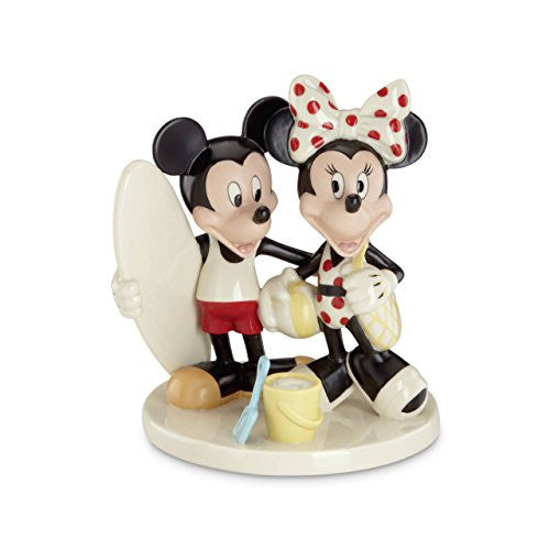 Disney's Mickey & Minnie's Fun in the Sun Figurine by Lenox