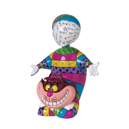 Disney by Britto from Enesco Cheshire Cat Figurine 6.5 IN - SHOPME.COM
