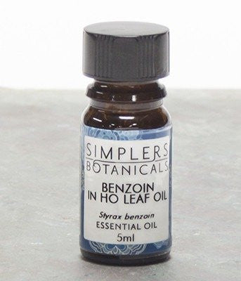 Essential Oil Benzoin in Ho Leaf Simplers Botanicals 5 ml Liquid - SHOPME.COM