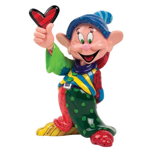 Enesco Disney by Britto Dopey by Britto Figurine, 8.375-Inch - SHOPME.COM