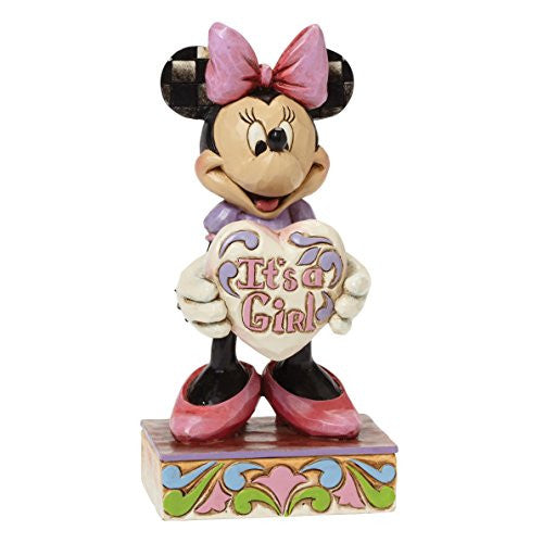 "Department 56 Disney Traditions by Jim Shore New Baby Girl Figurine, 5.5"" - SHOPME.COM"