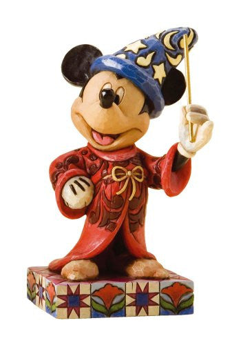 Disney Traditions by Jim Shore Sorcerer Mickey Stone Resin Figurine - SHOPME.COM