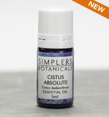 Essential Oil Cistus Absolute Simplers Botanicals 5 ml Liquid - SHOPME.COM