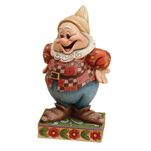 Disney Traditions designed by Jim Shore for Enesco Happy Figurine 4.5 IN