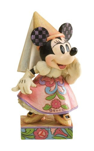Disney Traditions by Jim Shore 4011753 Princess Minnie Mouse Personality Pose Figurine 5-Inch - SHOPME.COM