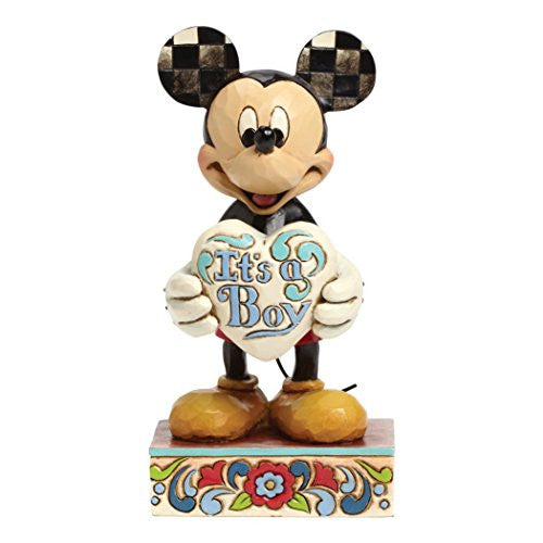 Department 56 Disney Traditions by Jim Shore New Baby Boy Figurine, 5.5""