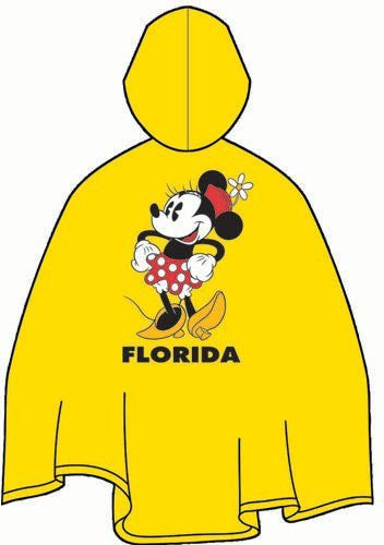 Disney Minnie Mouse Adult Rain Poncho - SHOPME.COM